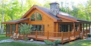 Best-Small-Log-Cabin-Ideas-With-Awesome-Decoration-07-