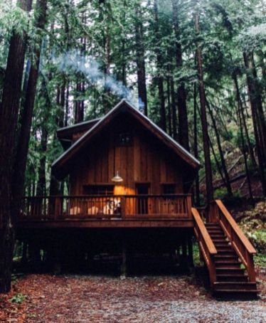 Best-Small-Log-Cabin-Ideas-With-Awesome-Decoration-08-