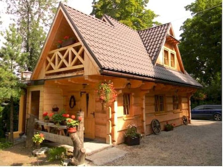 Best-Small-Log-Cabin-Ideas-With-Awesome-Decoration-25-