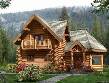 Best-Small-Log-Cabin-Ideas-With-Awesome-Decoration-27-