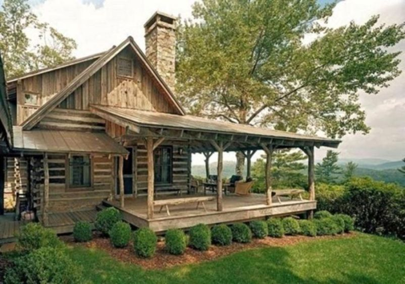Best-Small-Log-Cabin-Ideas-With-Awesome-Decoration-34-