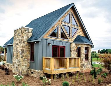 Best-Small-Log-Cabin-Ideas-With-Awesome-Decoration-38-