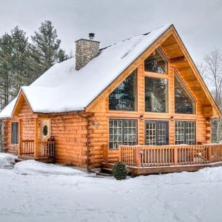 Best-Small-Log-Cabin-Ideas-With-Awesome-Decoration-42-