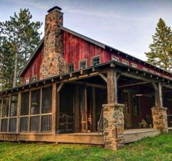 Best-Small-Log-Cabin-Ideas-With-Awesome-Decoration-43-